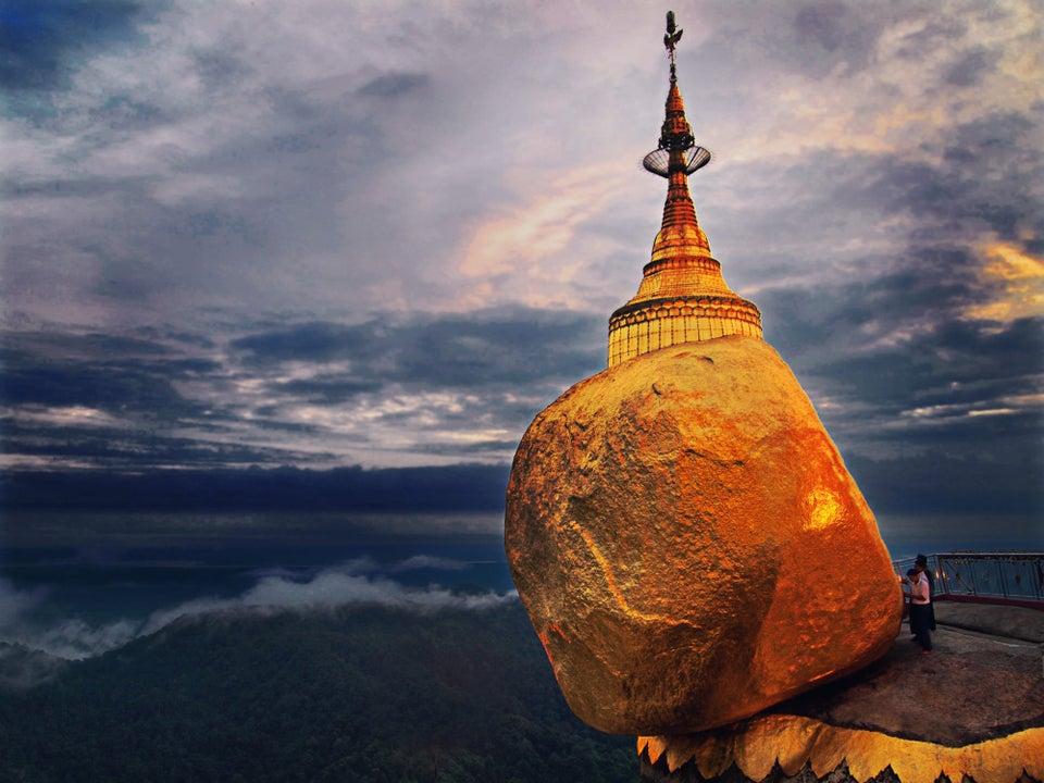 Golden Rock Pagoda, Mon State